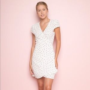 Brandy Melville Robbie Wrap Dress Size Small